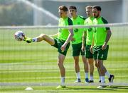 23 May 2019; Ronan Curtis, left, during a Republic of Ireland training session at The Campus in Quinta do Lago, Faro, Portugal. Photo by Seb Daly/Sportsfile