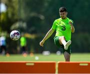 23 May 2019; John Egan during a Republic of Ireland training session at The Campus in Quinta do Lago, Faro, Portugal. Photo by Seb Daly/Sportsfile