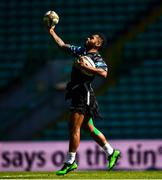 24 May 2019; Nikola Matawalu during the Glasgow Warriors captain's run at Celtic Park in Glasgow, Scotland. Photo by Ramsey Cardy/Sportsfile