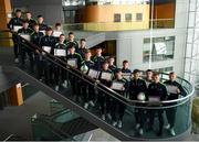 23 May 2019; Course Graduates pictured at the 2019 FAI / Fingal TY Course Graduation at Blanchardstown Civic Office in Dublin. Photo by Harry Murphy/Sportsfile