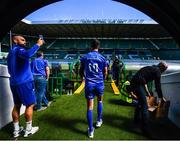 24 May 2019; Jonathan Sexton during the Leinster captain's run at Celtic Park in Glasgow, Scotland. Photo by Ramsey Cardy/Sportsfile