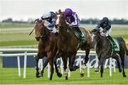 24 May 2019; Constantinople, with Ryan Moore up, on their way to winning the Kerrygold Gallinule Stakes from second place Buckhurst with Donnacha O'Brien at The Curragh Racecourse in Kildare. Photo by Matt Browne/Sportsfile