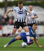 24 May 2019; Patrick McEleney of Dundalk in action against Jamie Lennon of St Patricks Athletic during the SSE Airtricity League Premier Division match between Dundalk and St Patrick's Athletic at Oriel Park in Dundalk, Co Louth. Photo by Harry Murphy/Sportsfile