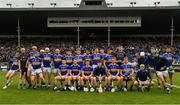 19 May 2019; The Tipperary squad before the Munster GAA Hurling Senior Championship Round 2 match between Tipperary and Waterford at Semple Stadium, Thurles in Tipperary. Photo by Ray McManus/Sportsfile