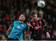 24 May 2019; Ronan Murray of Sligo Rovers in action against Conor Levingston of Bohemians during the SSE Airtricity League Premier Division match between Bohemians and Sligo Rovers at Dalymount Park in Dublin. Photo by Michael P Ryan/Sportsfile