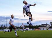 24 May 2019; Seán Hoare of Dundalk celebrates after scoring his side's first goal during the SSE Airtricity League Premier Division match between Dundalk and St Patrick's Athletic at Oriel Park in Dundalk, Co Louth. Photo by Harry Murphy/Sportsfile