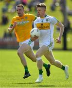 12 May 2019; David Dempsey of Offaly in action against Barry Dardis of Meath during the Meath and Offaly - Leinster GAA Football Senior Championship Round 1 match at Páirc Tailteann, Navan in Meath. Photo by Brendan Moran/Sportsfile