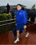 25 May 2019; Luke McGrath of Leinster arrives prior to the Guinness PRO14 Final match between Leinster and Glasgow Warriors at Celtic Park in Glasgow, Scotland. Photo by Ramsey Cardy/Sportsfile