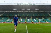25 May 2019; Scott Fardy of Leinster walks the pitch prior to the Guinness PRO14 Final match between Leinster and Glasgow Warriors at Celtic Park in Glasgow, Scotland. Photo by Brendan Moran/Sportsfile