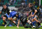 25 May 2019; Scott Fardy of Leinster is tackled by Scott Cummings of Glasgow Warriors during the Guinness PRO14 Final match between Leinster and Glasgow Warriors at Celtic Park in Glasgow, Scotland. Photo by Brendan Moran/Sportsfile