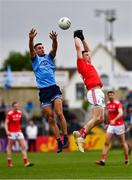 25 May 2019; James McCarthy of Dublin  in action against Conal McKeever of Louth  during the Leinster GAA Football Senior Championship Quarter-Final match between Louth and Dublin at O'Moore Park in Portlaoise, Laois. Photo by Ray McManus/Sportsfile