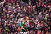 25 May 2019; Andy Moran of Mayo celebrates after scoring a second half point during the Connacht GAA Football Senior Championship Semi-Final match between Mayo and Roscommon at Elverys MacHale Park in Castlebar, Mayo. Photo by Stephen McCarthy/Sportsfile