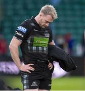 25 May 2019; A dejected Stuart Hogg of Glasgow Warriors following the Guinness PRO14 Final match between Leinster and Glasgow Warriors at Celtic Park in Glasgow, Scotland. Photo by Ross Parker/Sportsfile