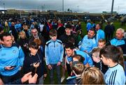 25 May 2019; Rory O'Carroll of Dublin with supporters following the Leinster GAA Football Senior Championship Quarter-Final match between Louth and Dublin at O'Moore Park in Portlaoise, Laois. Photo by Eóin Noonan/Sportsfile