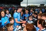 25 May 2019; Brian Fenton of Dublin of Dublin with supporters following the Leinster GAA Football Senior Championship Quarter-Final match between Louth and Dublin at O'Moore Park in Portlaoise, Laois. Photo by Eóin Noonan/Sportsfile