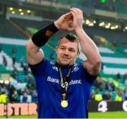 25 May 2019; Cian Healy of Leinster celebrates after the Guinness PRO14 Final match between Leinster and Glasgow Warriors at Celtic Park in Glasgow, Scotland. Photo by Ross Parker/Sportsfile