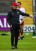 25 May 2019; Tyrone manager Mickey Harte before the Ulster GAA Football Senior Championship Quarter-Final match between Antrim and Tyrone at the Athletic Grounds in Armagh. Photo by Oliver McVeigh/Sportsfile