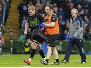 25 May 2019; Stuart Hogg of Glasgow Warriors goes off with an injury during the Guinness PRO14 Final match between Leinster and Glasgow Warriors at Celtic Park in Glasgow, Scotland. Photo by Ross Parker/Sportsfile