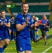 25 May 2019; Jonathan Sexton of Leinster celebrates after the Guinness PRO14 Final match between Leinster and Glasgow Warriors at Celtic Park in Glasgow, Scotland. Photo by Ross Parker/Sportsfile