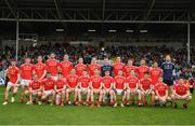 25 May 2019; The Louth squad before the Leinster GAA Football Senior Championship Quarter-Final match between Louth and Dublin at O'Moore Park in Portlaoise, Laois. Photo by Ray McManus/Sportsfile