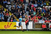 25 May 2019; Dublin substitute Rory O'Carroll is introduced in the second half of the Leinster GAA Football Senior Championship Quarter-Final match between Louth and Dublin at O'Moore Park in Portlaoise, Laois. Photo by Ray McManus/Sportsfile