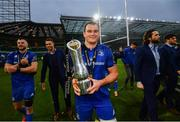 25 May 2019; Rhys Ruddock of Leinster following the Guinness PRO14 Final match between Leinster and Glasgow Warriors at Celtic Park in Glasgow, Scotland. Photo by Ramsey Cardy/Sportsfile