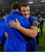 25 May 2019; Josh van der Flier of Leinster celebrates after the Guinness PRO14 Final match between Leinster and Glasgow Warriors at Celtic Park in Glasgow, Scotland. Photo by Brendan Moran/Sportsfile