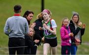 25 May 2019; Leah Toher, representing Shrule - Glencorrib - Kilroe, Co Mayo, competing in the 7km marathon event during Day 1 of the Aldi Community Games May Festival, which saw over 3,500 children take part in a fun-filled weekend at University of Limerick. Photo by Piaras Ó Mídheach/Sportsfile
