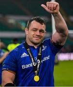 25 May 2019; Cian Healy of Leinster celebrates after the Guinness PRO14 Final match between Leinster and Glasgow Warriors at Celtic Park in Glasgow, Scotland. Photo by Brendan Moran/Sportsfile