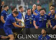 25 May 2019; Sean Cronin of Leinster celebrates after the Guinness PRO14 Final match between Leinster and Glasgow Warriors at Celtic Park in Glasgow, Scotland. Photo by Brendan Moran/Sportsfile
