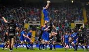 25 May 2019; James Ryan of Leinster wins a lineout during the Guinness PRO14 Final match between Leinster and Glasgow Warriors at Celtic Park in Glasgow, Scotland. Photo by Brendan Moran/Sportsfile