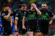 25 May 2019; Stuart Hogg of Glasgow Warriors dejected during the Guinness PRO14 Final match between Leinster and Glasgow Warriors at Celtic Park in Glasgow, Scotland. Photo by Ramsey Cardy/Sportsfile