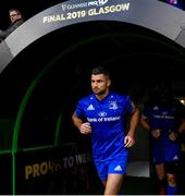 25 May 2019; Rob Kearney of Leinster ahead of the Guinness PRO14 Final match between Leinster and Glasgow Warriors at Celtic Park in Glasgow, Scotland. Photo by Ramsey Cardy/Sportsfile