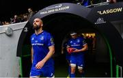 25 May 2019; Scott Fardy of Leinster ahead of the Guinness PRO14 Final match between Leinster and Glasgow Warriors at Celtic Park in Glasgow, Scotland. Photo by Ramsey Cardy/Sportsfile
