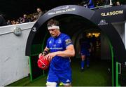 25 May 2019; Josh van der Flier of Leinster ahead of the Guinness PRO14 Final match between Leinster and Glasgow Warriors at Celtic Park in Glasgow, Scotland. Photo by Ramsey Cardy/Sportsfile