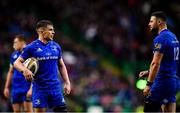25 May 2019; Luke McGrath, left, and Robbie Henshaw of Leinster during the Guinness PRO14 Final match between Leinster and Glasgow Warriors at Celtic Park in Glasgow, Scotland. Photo by Ramsey Cardy/Sportsfile