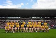 26 May 2019; The Galway squad prior to the Leinster GAA Hurling Senior Championship Round 3A match between Galway and Wexford at Pearse Stadium in Galway. Photo by Stephen McCarthy/Sportsfile