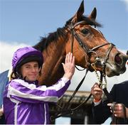 26 May 2019; Magical with jockey Ryan Moore after winning the Tattersalls Gold Cup (Group 1) at The Curragh Racecourse in Kildare. Photo by Barry Cregg/Sportsfile