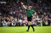 26 May 2019; Referee Johnny Murphy during the Leinster GAA Hurling Senior Championship Round 3A match between Galway and Wexford at Pearse Stadium in Galway. Photo by Stephen McCarthy/Sportsfile