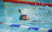 26 May 2019; Anna Cannon of Dalkey, Co Dublin, competing in the Backstroke U16 event during Day 2 of the Aldi Community Games May Festival, which saw over 3,500 children take part in a fun-filled weekend at University of Limerick. Photo by Piaras Ó Mídheach/Sportsfile