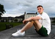 28 May 2019; Conor Masterson during a Republic of Ireland U21's press conference at Johnstown House Hotel in Enfield, Co Meath. Photo by Eóin Noonan/Sportsfile