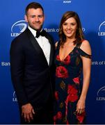 28 May 2019; On arrival at the Leinster Rugby Champions of 2009 Gala Dinner, proudly supported by Bank of Ireland, is Fergus and Rebecca McFadden. The Gala Dinner was held in celebration of Leinster Rugby's first ever Heineken Cup triumph in 2009 when they beat Leicester Tigers 16-19 in the Final in Murrayfield. The squad and coaches from 2009, were celebrated at a Gala Dinner at the RDS, proudly supported by Bank of Ireland and in association with Diageo, InterContinental Dublin and Off The Ball.com. Photo by Ramsey Cardy/Sportsfile