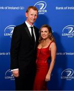28 May 2019; On arrival at the Leinster Rugby Champions of 2009 Gala Dinner, proudly supported by Bank of Ireland, is Leo Cullen and wife Dairine Kennedy. The Gala Dinner was held in celebration of Leinster Rugby's first ever Heineken Cup triumph in 2009 when they beat Leicester Tigers 16-19 in the Final in Murrayfield. The squad and coaches from 2009, were celebrated at a Gala Dinner at the RDS, proudly supported by Bank of Ireland and in association with Diageo, InterContinental Dublin and Off The Ball.com. Photo by Ramsey Cardy/Sportsfile