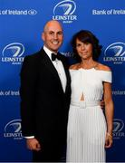 28 May 2019; On arrival at the Leinster Rugby Champions of 2009 Gala Dinner, proudly supported by Bank of Ireland, is Girvan Dempsey and his wife Ann-Marie. The Gala Dinner was held in celebration of Leinster Rugby's first ever Heineken Cup triumph in 2009 when they beat Leicester Tigers 16-19 in the Final in Murrayfield. The squad and coaches from 2009, were celebrated at a Gala Dinner at the RDS, proudly supported by Bank of Ireland and in association with Diageo, InterContinental Dublin and Off The Ball.com. Photo by Ramsey Cardy/Sportsfile
