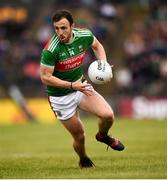 25 May 2019; Darren Coen of Mayo during the Connacht GAA Football Senior Championship Semi-Final match between Mayo and Roscommon at Elverys MacHale Park in Castlebar, Mayo. Photo by Stephen McCarthy/Sportsfile