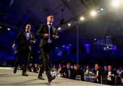 28 May 2019; Jonathan Sexton during the Leinster Rugby Champions of 2009 Gala Dinner, proudly supported by Bank of Ireland. The Gala Dinner was held in celebration of Leinster Rugby's first ever Heineken Cup triumph in 2009 when they beat Leicester Tigers 16-19 in the Final in Murrayfield. The squad and coaches from 2009, were celebrated at a Gala Dinner at the RDS, proudly supported by Bank of Ireland and in association with Diageo, InterContinental Dublin and Off The Ball.com. Photo by Ramsey Cardy/Sportsfile