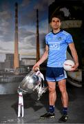 30 May 2019; Bernard Brogan of Dublin, pictured with the Sam Maguire Cup, at SuperValu GAA Sponsorship Launch 2019 at D-Light Studios in Dublin. SuperValu today launched their 10th year as sponsor of the GAA Football All-Ireland Senior Championship. Joined by their GAA ambassadors Bernard Brogan, Andy Moran, Damien Comer, Doireann O'Sullivan and Valerie Mulcahy – SuperValu revealed that they will contribute over €2.6 million to the GAA and GAA Clubs across the country, this year. Throughout their 10-years as GAA sponsor, SuperValu has contributed over €18 million to aid the development of our national sport. Photo by Sam Barnes/Sportsfile