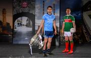 30 May 2019; In attendance at SuperValu GAA Sponsorship Launch 2019 at D-Light Studios in Dublin are Bernard Brogan of Dublin and Andy Moran of Mayo with the Sam Maguire Cup. SuperValu today launched their 10th year as sponsor of the GAA Football All-Ireland Senior Championship. Joined by their GAA ambassadors Bernard Brogan, Andy Moran, Damien Comer, Doireann O'Sullivan and Valerie Mulcahy – SuperValu revealed that they will contribute over €2.6 million to the GAA and GAA Clubs across the country, this year. Throughout their 10-years as GAA sponsor, SuperValu has contributed over €18 million to aid the development of our national sport. Photo by Sam Barnes/Sportsfile