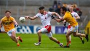 25 May 2019; Matthew Donnelly of Tyrone during the Ulster GAA Football Senior Championship Quarter-Final match between Antrim and Tyrone at the Athletic Grounds in Armagh. Photo by Oliver McVeigh/Sportsfile