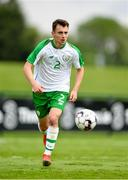 30 May 2019; Lee O'Connor of Republic of Ireland U21's during the Friendly match between Republic of Ireland and Republic of Ireland U21's at the FAI National Training Centre in Dublin. Photo by Harry Murphy/Sportsfile